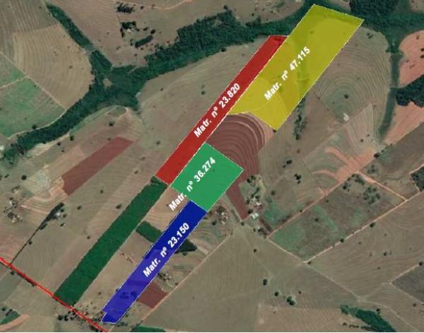 Área Rural 13,90 hectares - Ponto da Onça - Alvares Florence