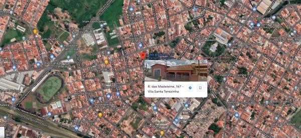 Casa c/ 133m² ac + Barracão c/ 144m² ac - Vargem Grande do Sul